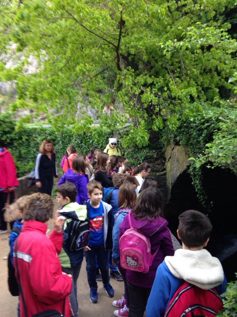 Učenici osnovne škole Dr Josipa Pančića posjetili Izvorište Žrnovnica