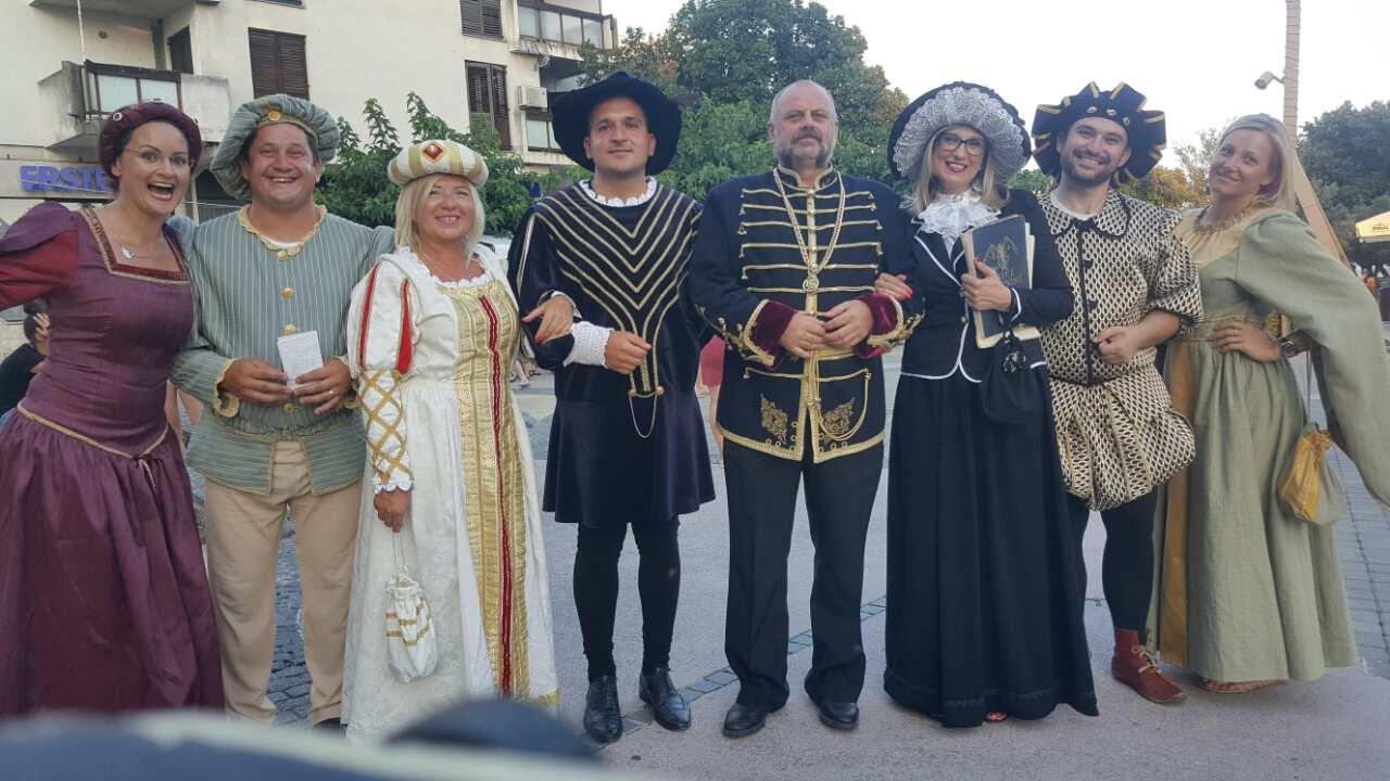 Djelatnici Žrnovnice prošetali kroz povijest našeg Grada