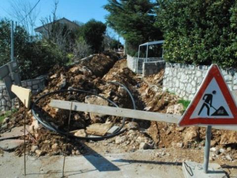Kanalizacija ide ka Klenovici, Smokvici i Vinodolskoj općini